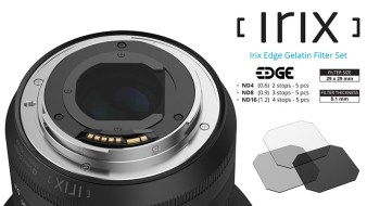 Irix Edge Gelatin Filter.