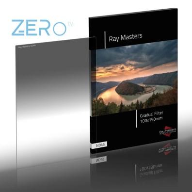 Ray Masters 2-stops grijsfilter met zachte overgang.