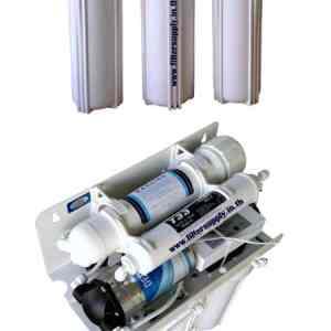เครื่องกรองน้ำ RO Fast Pure แบบกล่อง 5 ขั้นตอน ขนาด 75 GPD