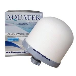 ไส้กรองน้ำ Ceramic Dome Aquatek หัวโดม