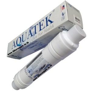 ไส้กรองน้ำ Inline Aquatek Silver Pre-Carbon ขนาด 12 นิ้ว