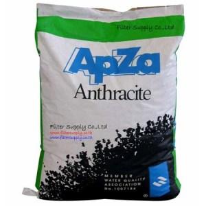 สารกรองน้ำแอนทราไซต์ Apza Anthracite ขนาด 50 ลิตร (WF50ANAP)