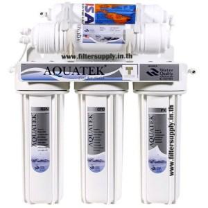 เครื่องกรองน้ำ 5 ขั้นตอน Aquatek Silver Hollow Fiber (UF)