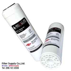 ไส้กรองน้ำเรซิ่น Absolute Resin Dowax SR1L (NSF) ขนาด 10 นิ้ว
