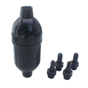 water bladder filtration system