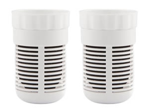 pH2O Water Pitcher Replacement Filters - 2 Pack