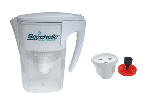 radiological water pitcher