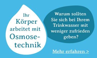 was ist osmosewasser