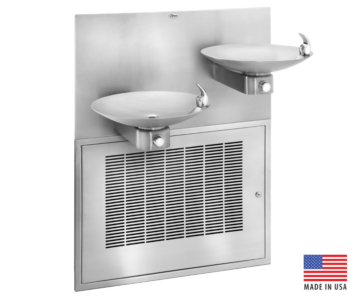 Nyu Dispenses More Drinking Water With Filtrine S Three Bowl Drinking Fountains Case Study Filtrine