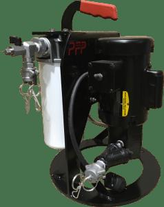 HH: Sistema de filtración portáil, parte delantera