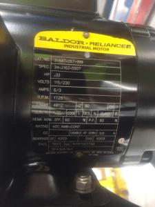 HH: Sistema de filtración portáil, placa motora