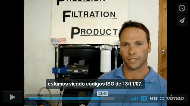 Vista previa de video sobre el analizar de gasoleo frente a la norma de limpieza ISO 4406