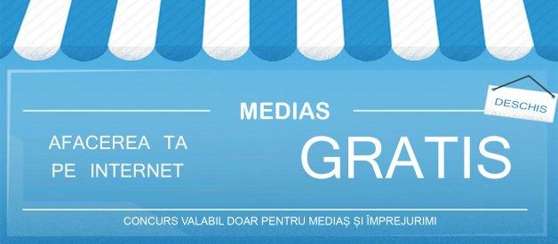 Se oferă un site gratuit pentru o firmă din Mediaș