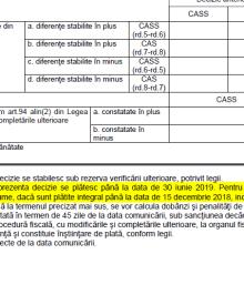 Bonificație de 10% ANAF pentru plata anticipată