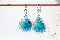 Ocean Blue Earrings Seventy 6 Moon River Ocean Blue