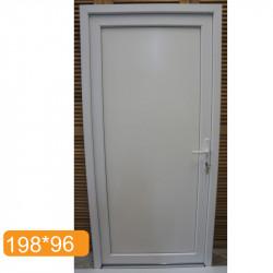 porte de service pvc blanc