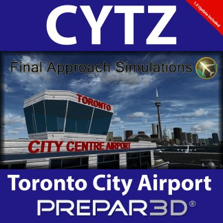 CYTZ Billy Bishop Toronto City Airport v1 5 for FSX (Download