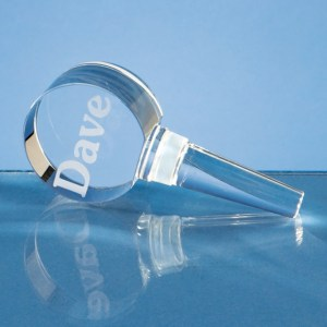 10cm Optical Crystal Bottle Stopper