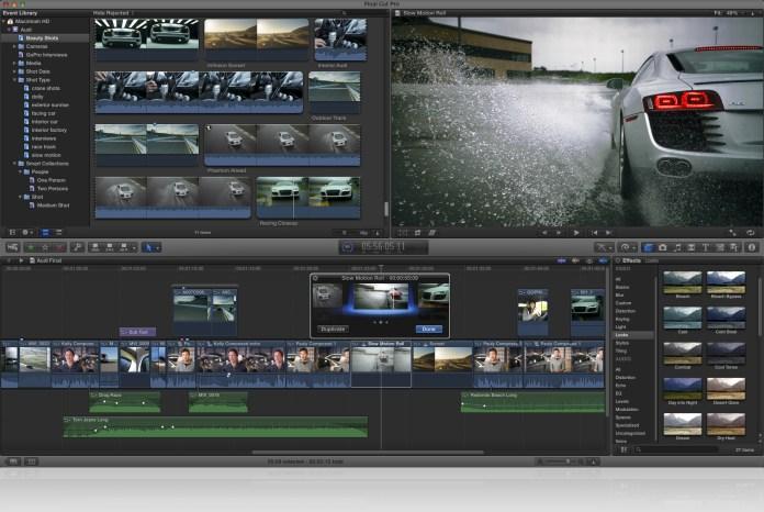 ¿Es Final Cut Pro X un iMovie con esteorides?