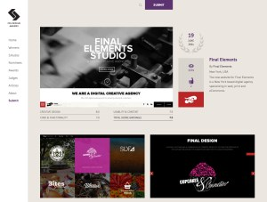 CSS Design Awards For Final Elements