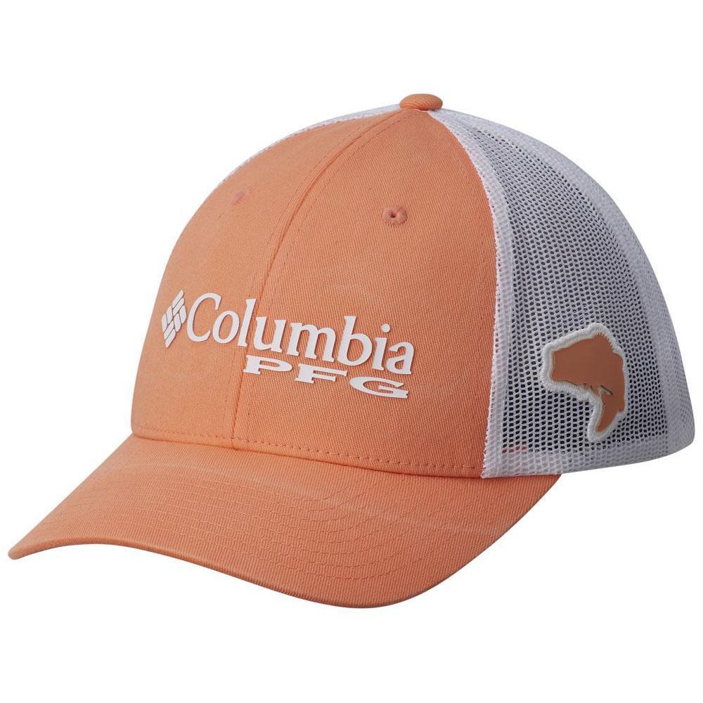 25397a3c52252 Gray Men Green Columbia Pfg Hat Xxl Columbia Pfg Mesh Snap Back Hat ...