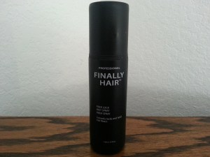 fiber hair spray