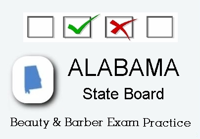 ALABAMA Cosmetology Barber Esthetics State Board Test
