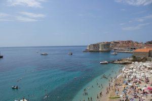 Al mare in Croazia: Banje Beach, Dubrovnik
