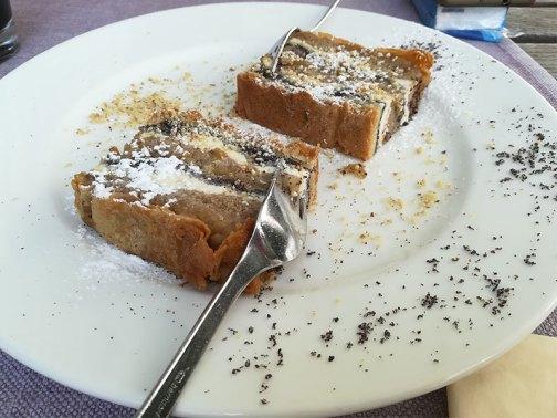 Torta Gibanica a Lubiana