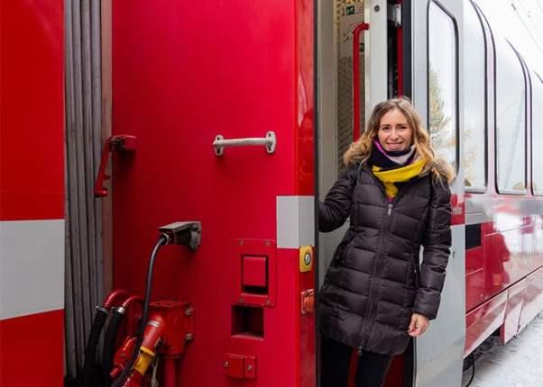 In viaggio sul Trenino Rosso del Bernina