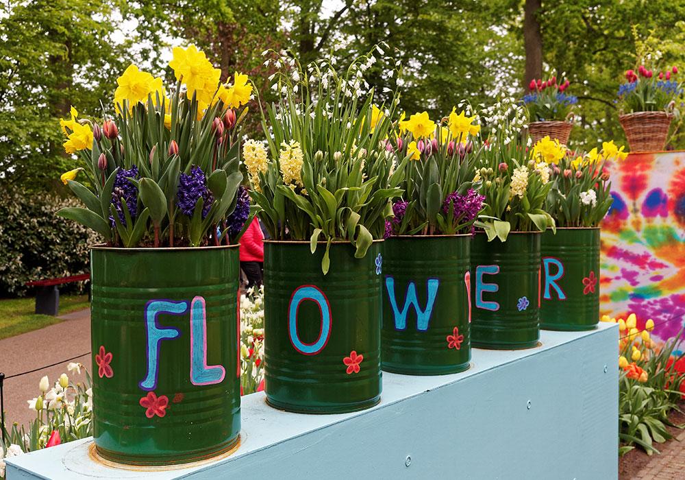 Flower Power a Keukenhof Park