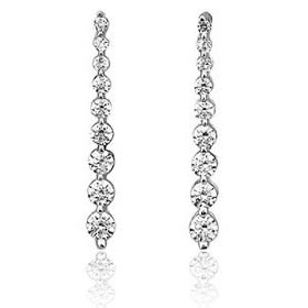 0.59 cts. diamond fashion earring