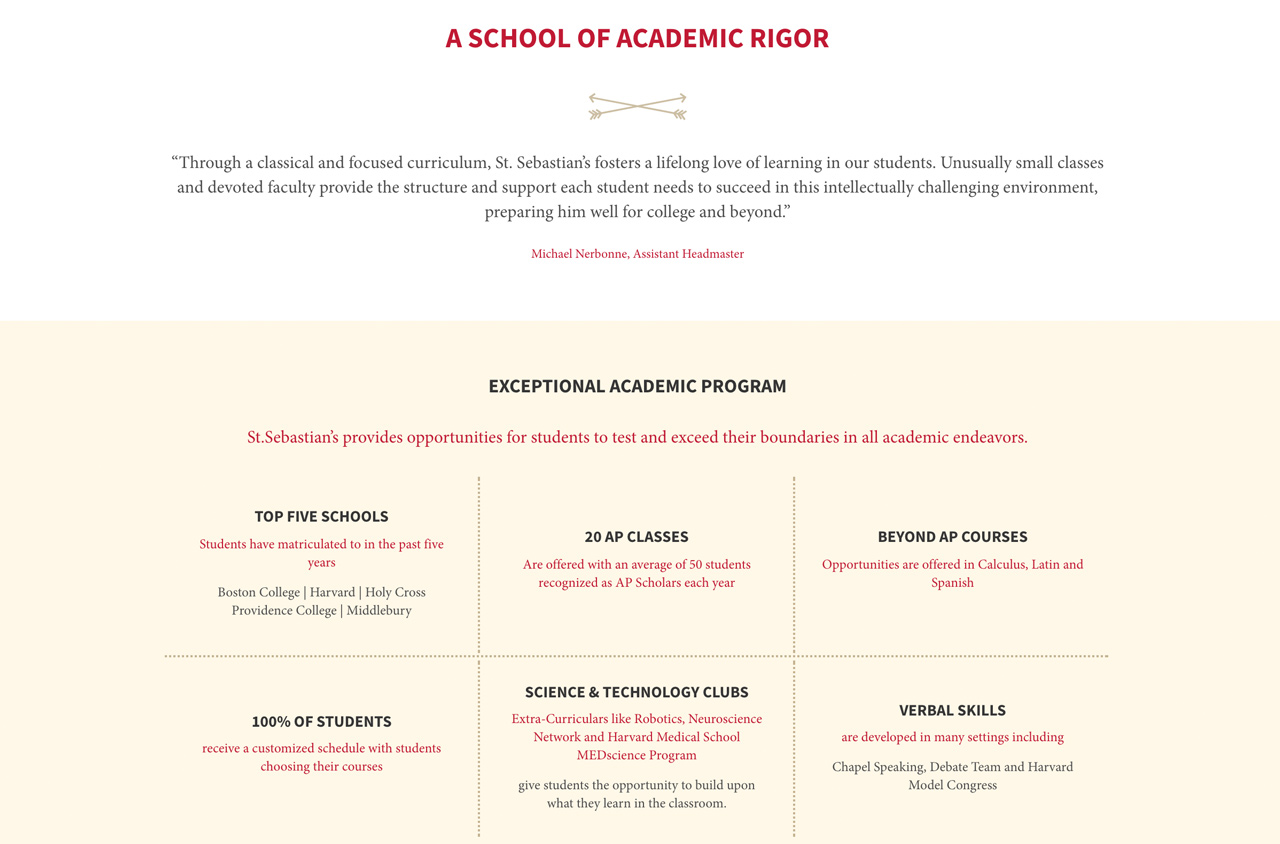 How To Build The Best Academics Page On Your School S
