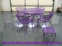 Purple Patio Chairs Picture - pixelmari.com