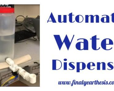 Project on Automatic Water Dispenser