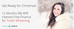 christmas tooth whitening promotion