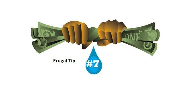 Frugal money saving tip