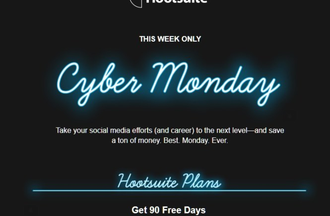 Even Hootsuite is on sale
