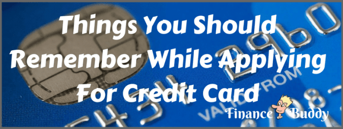 Credit Card Apply Online tips