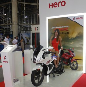 Hero MotoCorp opened a $70 million USD manufacturing facility outside Cali