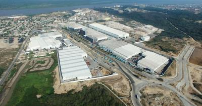 Tecnoglass has a 3 million square foot headquarters and production facility in Colombia's Atlantic port city of Barranquilla