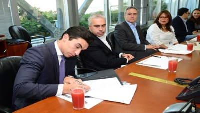 Loan document signing for EPM club deal