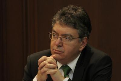 Mauricio Cárdenas, Ministro de Hacienda y Crédito Público. Presidente de la Junta Directiva. Archivo Banco de la República. Fotografía Juan Enrique Rodríguez. Ecopetrol