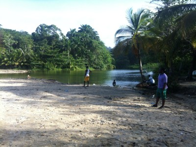 There are hundreds or rural, tranquil beaches free from noise, development or tourist traps ringing the islands, just outside of urban areas. This is idyllic Blanchisseuse, On Trinidad's north coast. (Photo credit: Loren Moss)