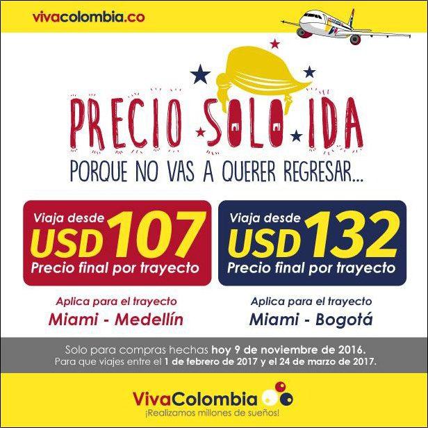 viva colombia trump advertisement ad campaign