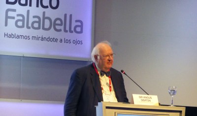 Angus Deaton inequality progress colombia asobancaria