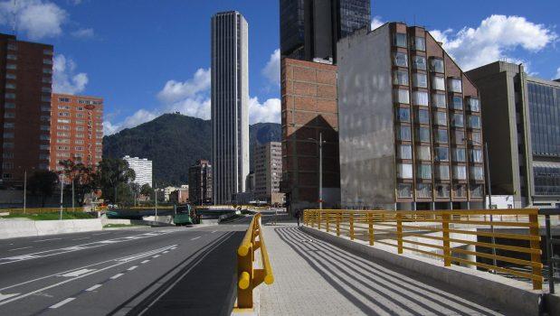 Photo: Torre Colpatria in Bogotá. (Credit:Pedro Felipe)