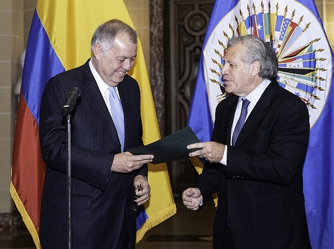 Alejandro Ordoñez became Colombia's representative to the OAS in September Credit- OAS