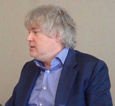 Didier Lagae, head of MARCO agency, author of Marca Pais, un país como marca
