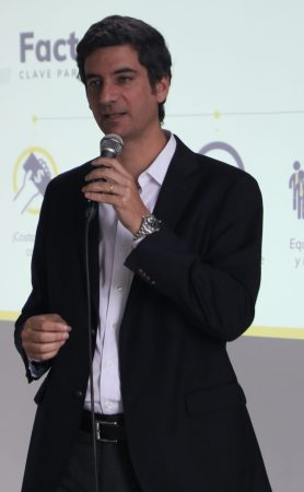 Viva Air CEO Felix Antelo (Photo credit: Loren Moss)